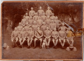 Lionel was sent to India with the 2nd Battalion in 1915