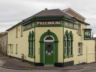 The pub with two names - The Dust Hole/Railway Inn. 2013   Photo John Palmer 2013