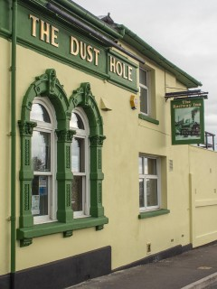 The pub with two names - The Dust Hole/Railway Inn - in 2013 | John Palmer