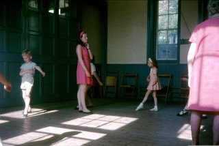 Dance lessons taking place at Number 88 Milford Street- St Martin's Hall. Picture by kind permission of Marion and Will Tucker