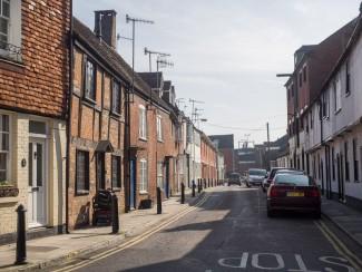 Stand 5 - View Down Guilder Lane From Greencroft Street.   Photo John Palmer 2014