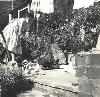 In the 1920s, children played outside their homes in Rampart Road but, with the increase of traffic, it became too dangerous to do so. In the 1950s, my sister and I either played in our back gardens or in play areas like those in the Greencroft  and Riverside Gardens. | Picture by kind permission of the Jacob family