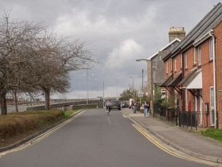 Stand 15. View down Rampart Road from Tollgate Road with Ring Road on your left. | Photo John Palmer 2014