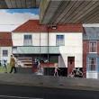 7. The Milford Street Bridge Mural