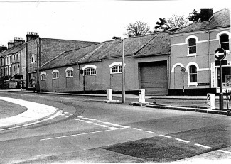 During the 1950s, the New Forest Laundry occupied the large site that once was Armitages. Although unaffected by the construction of Churchill Way, the premises were demolished as part of a new housing development. | Picture with kind permission of Salisbury and South Wiltshire Museum © Salisbury Museum