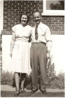 Ernst Kolk was one of the workers brought to the United Kingdom in the 1930s, taking the place of someone who had dropped out. After being interned in Canada before the war, he returned to Salisbury and married Joyce Evans before emigrating to the United States in the summer of 1947. | Picture by kind permission of the Jacob family