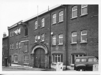 This photograph shows the Invicta Leather Works in 1966.  | With kind permission of Salisbury and South Wiltshire Museum © Salisbury Museum