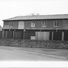 The Milford Goods Depot in 1966.  | With kind permission of Salisbury and South Wiltshire Museum © Salisbury Museum