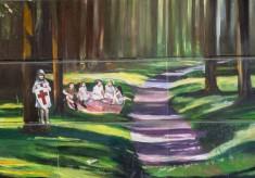 Scenes in the Jubilee Mural