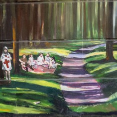 The section of the Jubilee Mural with the hidden objects | John Palmer