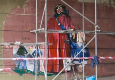 The creation of the Jubilee Mural