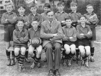 St Marks School Football Team 1959 | With kind permission of, and copyright of, St Marks CE Junior School