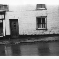 Numner 65 Milford Street, 1966. You can see the edge of Foster's Bakery on the left. | With kind permission Salisbury and South Wiltshire Museum © Salisbury Museum