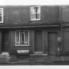 Number 43 Milford Street in 1971 | With kind permission of Salisbury and South Wiltshire Museum © Salisbury Museum