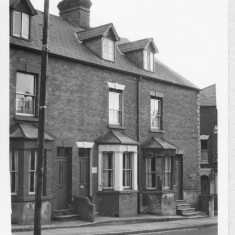 Milford Street, residential top end in 1966 | With kind permission Salisbury and South Wiltshire Museum © Salisbury Museum
