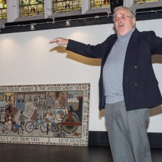 George Fleming, our historian, expands on the history of Winchester Street depicted in the mosaic. | John Palmer