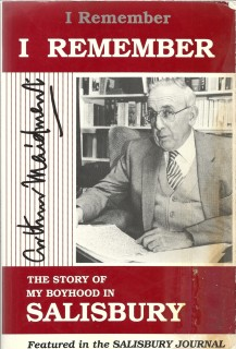 Arthur Maidment's autobiography contains several chapters about his time in St. Martin's Infant Department and Boys' School.