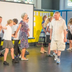 Children from year 6 at St Marks School did a short performance with the Mind the Gap group from Salisbury Playhouse, under the guidance of our Dance Artist Rebecca Seymour. It looked at shopping