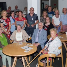 Lots of contributors, team members, supporters and volunteer helpers on the project   John Palmer