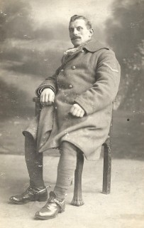 We know this is a photograph of Walter as Maud requested the return of the chevrons on his coat. | By kind permission of the jacob family