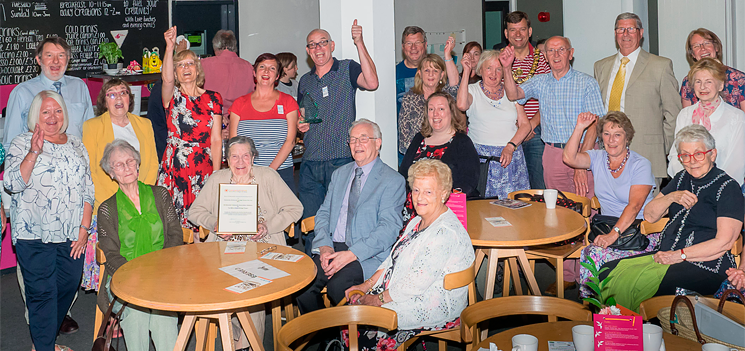 Project wins the award for Community Archive and Heritage Group of the Year 2015