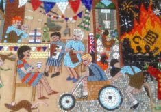 The Greencroft Street Mosaic