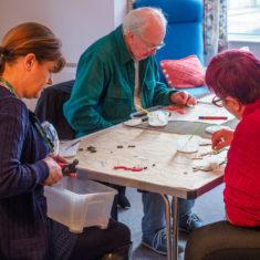 Photo gallery - making the Culver Street mosaic | John Palmer