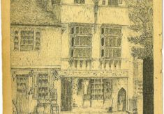 Joiners Hall sketch circa pre 1920 - a submission from James Johnstone
