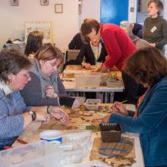 Volunteers hard at work | John Palmer