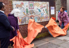 Culver Street Mosaic Unveiling and Celebration