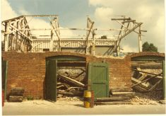 Milford Goods Yard - demolition photo gallery